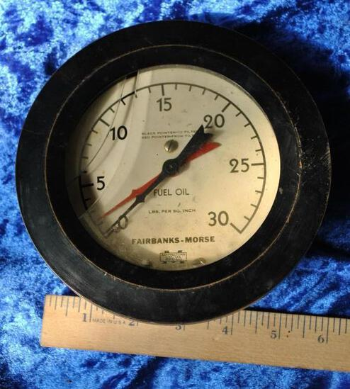 Fairbanks & Morse Fuel Oil Gauge