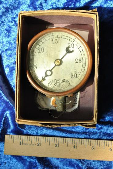 Capital Brass Works Gauge