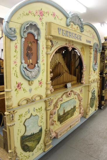 Verbeeck Player Pipe Organ