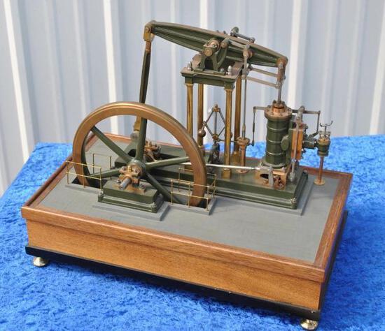 Walking Beam Steam Engine