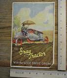The Gray Tractor Literature
