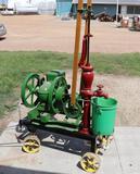 John Deere Stationary Engine and Bulware & Webster Pump