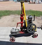 Moniter Stationary Engine with Red Jacket Pump