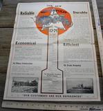 Sales Brochure Minneapolis All Purpose 12-25 Kerosene Tractor