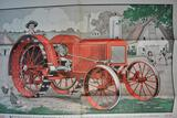 Large Interstate Engine and Tractor Company Folded Advertisement