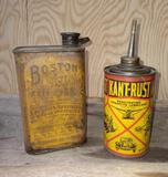 Boston Axle Oil and Kant-Rust Can