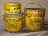 Superior Axle Grease Cans