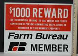 Farm Bureau Member Sign