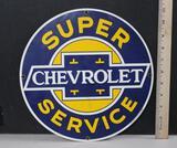 Chevrolet Porcelain Sign