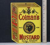 Colman's Mustard Porcelain sign