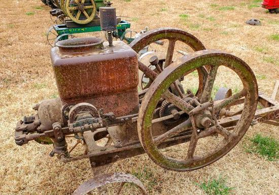 5 HP Galloway Stationary Engine