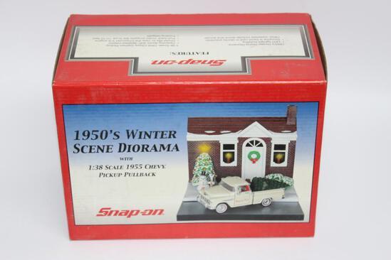 Snap-On 1950's Winter Scene Diorama