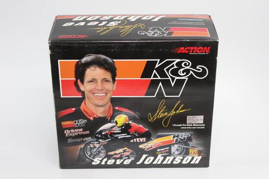 Steve Johnson Motorcycle Collectable