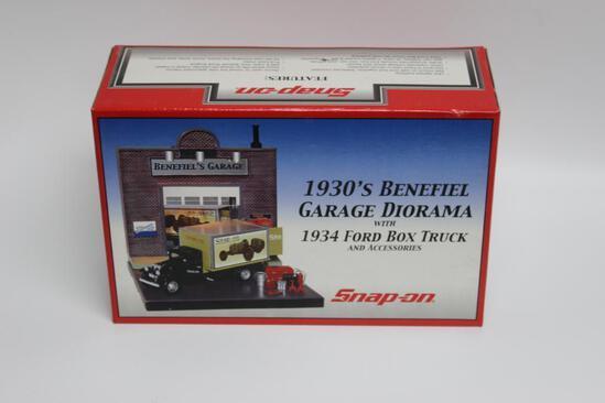 Snap-On 1930's Benefiel Garage Diorama