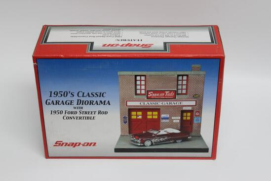 Snap-On 1950's Classic Garage Diorama