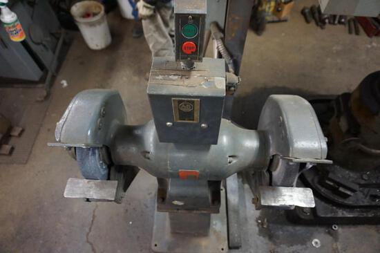 PowerMatic Grinder/Buffer on Stand