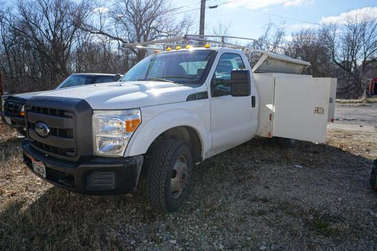 2012 Ford F350 2WD Service Truck