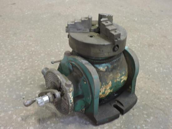 Indexing Rotary chuck...