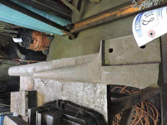 Tinners anvil and anvil horn