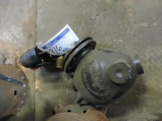 Steam boiler pressure valves.