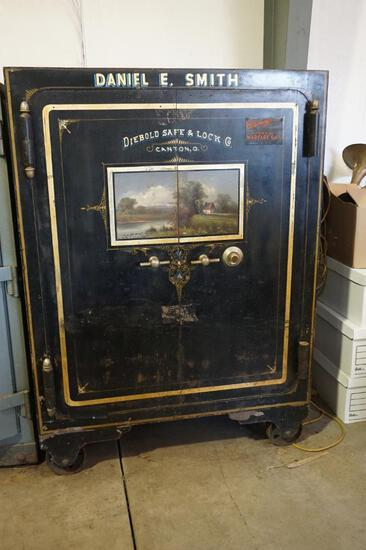 Old Safe by Diebold Safe Company