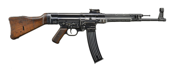 ORIGINAL GERMAN MP-44 MACHINE GUN.