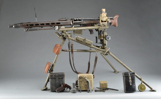 EXTREMELY COMPLETE MAGET MG42 PACKAGE.
