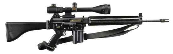 STERLING AR 180 RIFLE.