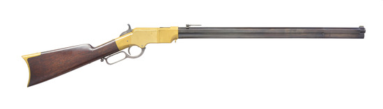 HENRY 1860 LEVER ACTION REPEATING RIFLE.