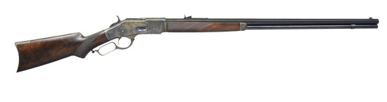 WINCHESTER 1873 DELUXE RIFLE.