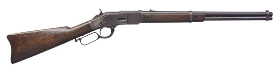 WINCHESTER 1873 1ST MODEL LEVER ACTION SRC.