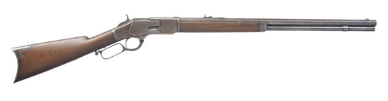 WINCHESTER 1873 1ST MODEL LEVER ACTION RIFLE.
