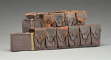 2 WINCHESTER 1895 LEE NAVY AMMO BELTS.
