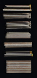 ASSORTMENT OF WINCHESTER STYLE METAL CLEANING ROD