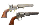 PAIR OF COLT MODEL 1849 POCKET REVOLVERS.