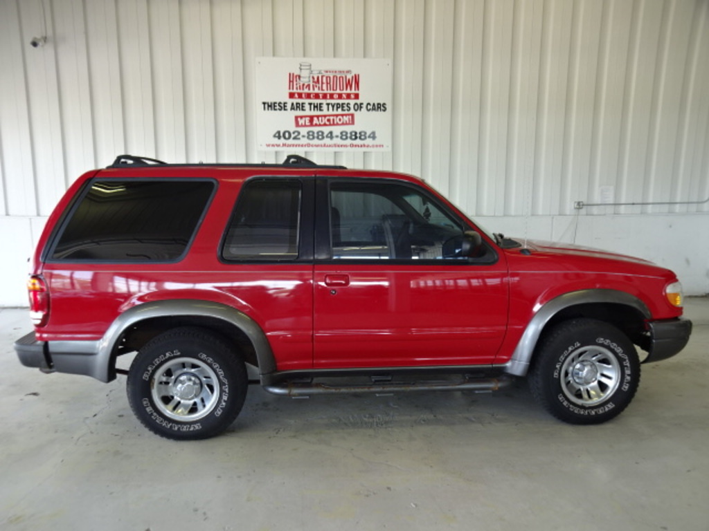 1999 FORD EXPLORER 2 DOOR WAGON SPORT 4.0 2WD MANUAL