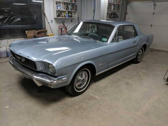1966 FORD MUSTANG SPORT COUPE
