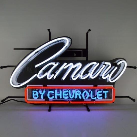 CAMARO BY CHEVROLET SIGN