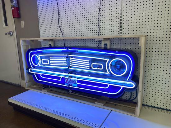 CHEVROLET CAMARO Z/28 GRILL NEON CAN SIGN