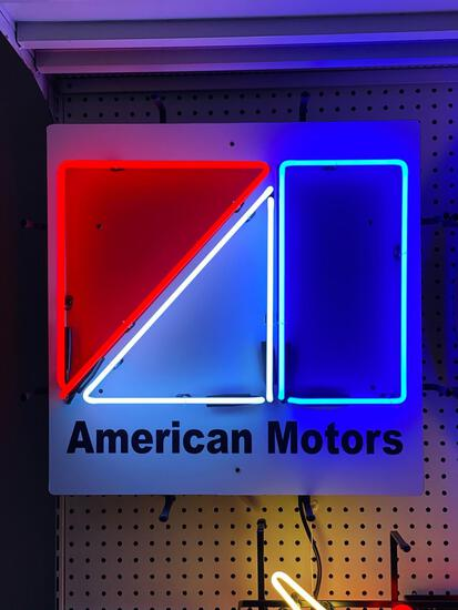 AMC MOTORS NEON SIGN