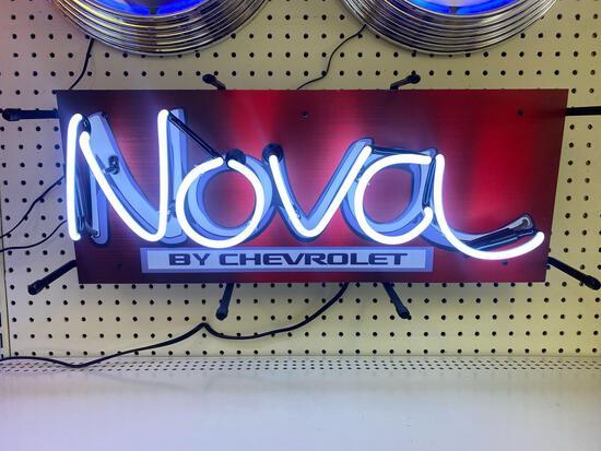 CHEVROLET NOVA NEON SIGN