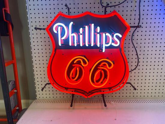 PHILLIPS 66 NEON SIGN *SPECIALTY SIGN*