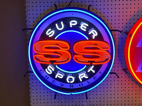 SUPER SPORT SS NEON SIGN *SPECIALTY SIGN* *LAST ONE*