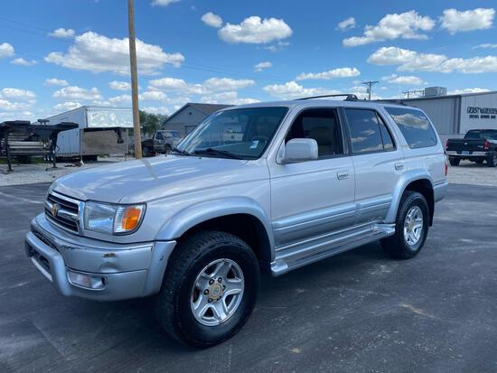 1999 TOYOTA 4 RUNNER LIMITED *NO RESERVE*