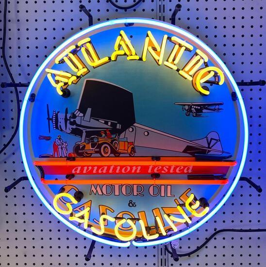 ATLANTIC GASOLINE NEON SIGN