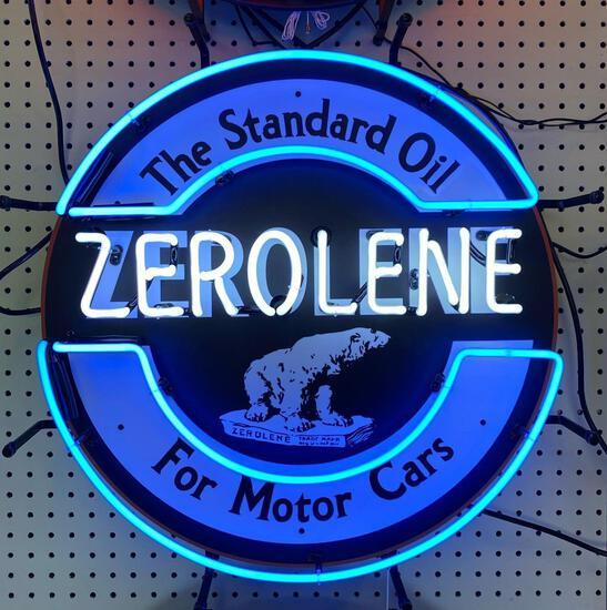 ZEROLENE OIL NEON SIGN