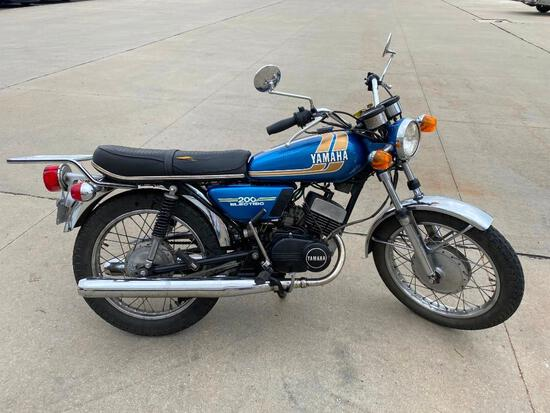 1974 YAMAHA RD200B