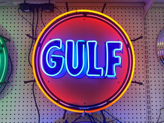 GULF NEON SIGN *SPECIALTY SIGN*