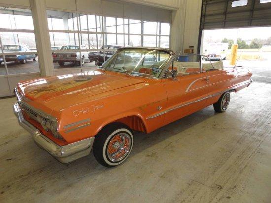 1963 Chevrolet Impala *US MARSHAL SEIZED