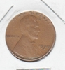 1939S LINCOLN WHEAT CENT